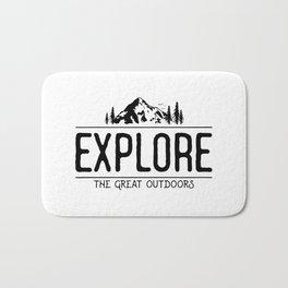 Explore the Great Outdoors Bath Mat