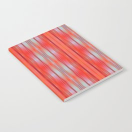 Red ikat Notebook