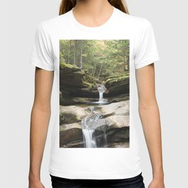 waterfall in NH T-shirt