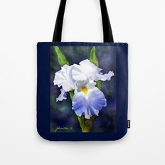 Susan's Blue Iris Tote Bag