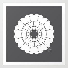 Bloomin Smile Art Print