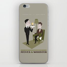 Jeeves & Wooster iPhone Skin