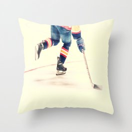 The Sport Of Hockey Throw Pillow