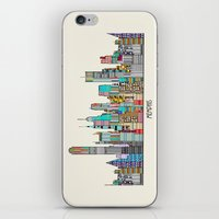 memphis iPhone & iPod Skins featuring Memphis city by bri.buckley