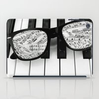piano iPad Cases featuring piano by emyemyemyy