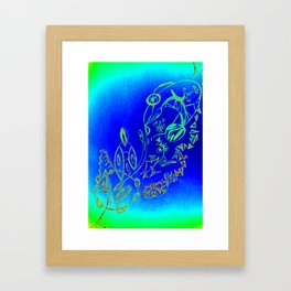 Life in the Ocean Framed Art Print