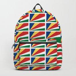 flag of seychelles - Seychellois,Seychelloise, Seselwa,victoria,mahé Backpack