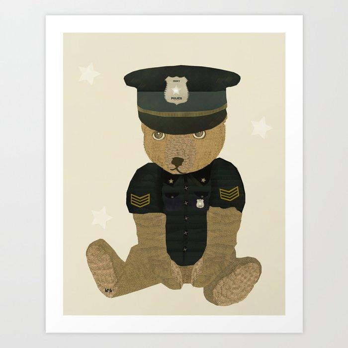 police ted  Art Print