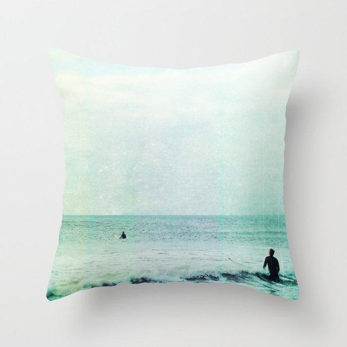 Creating Voids Throw Pillow