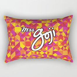 goji triangles Rectangular Pillow