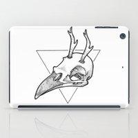 antler iPad Cases featuring Antler Bird by HATCH