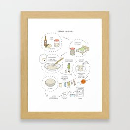 Everyday Sourdough (2) Framed Art Print