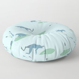Marshland Dance Floor Pillow