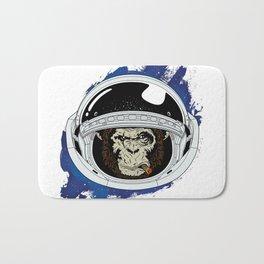 Space Chimp Bath Mat