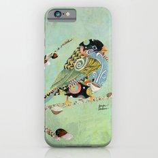 Cafe Swirly Bird 5 iPhone 6 Slim Case