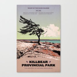Killbear Provincial Park Canvas Print