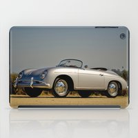 porsche iPad Cases featuring Porsche Speedster by Hugh Hamilton
