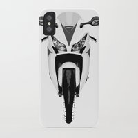 honda iPhone & iPod Cases featuring Honda Motorcycle by SABIRO DESIGN
