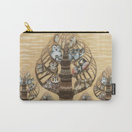 Owl Hotel Carry-All Pouch