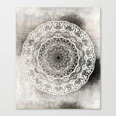 DESERT FLOWER MANDALA Canvas Print