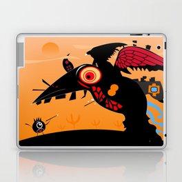 Loch Ness Monster Crow Laptop & iPad Skin