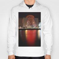 dublin Hoodies featuring Dublin Convention Centre by Ciaran Mcg