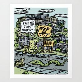 First Moment Art Print