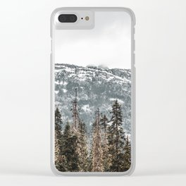 Sawtooth Canopy Clear iPhone Case