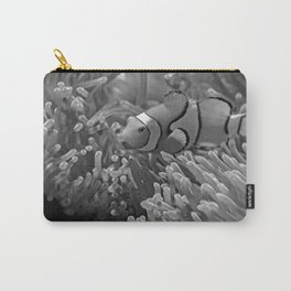 Clown Fish (Black and White) Carry-All Pouch