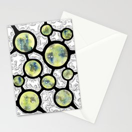 Ten of Microbes Stationery Cards