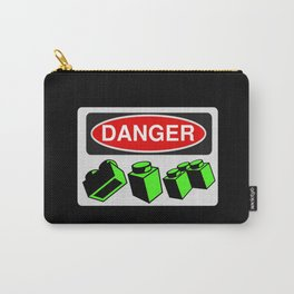 Danger Bricks by Chillee Wilson Carry-All Pouch