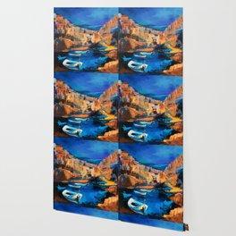 Night Colors Over Riomaggiore - Cinque Terre Wallpaper