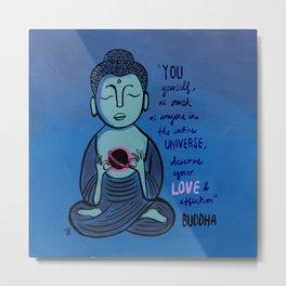 Buddha Quote1 Metal Print