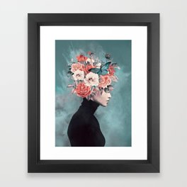 blooming 3 Framed Art Print