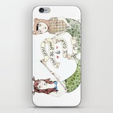 You Can Be You iPhone & iPod Skin