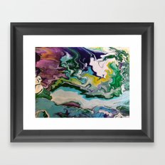 Cool Colors Framed Art Print