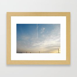 some day, Framed Art Print