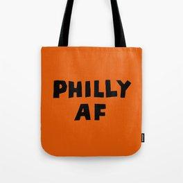 Philly AF (Orange) Tote Bag