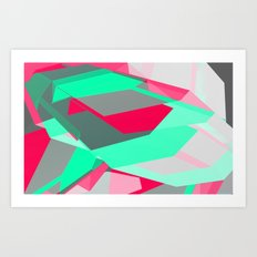 40hz: Synth Art Print