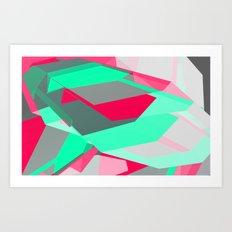 40hz: Synth Art Print