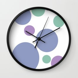Fairy Orbs Wall Clock