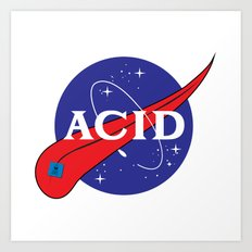 ACID (FOR A FRAN) Art Print