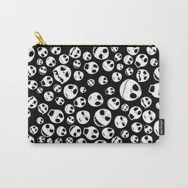 Halloween Jack Skellingtons emoticon face iPhone 4 4s 5 5c 6, pillow case, mugs and tshirt Carry-All Pouch