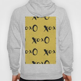 Kisses XOXO Lemon Zest Hoody