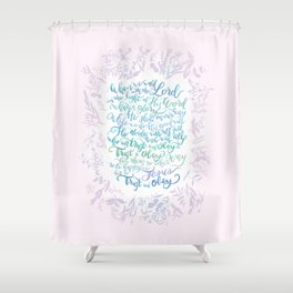 Trust and Obey - Hymn Shower Curtain