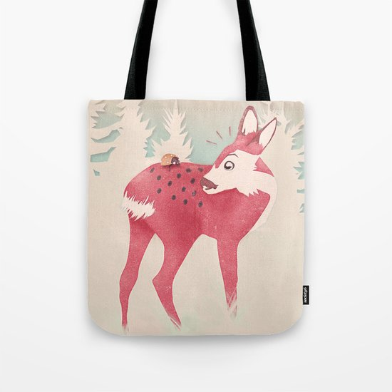 Oh deer, what the bug?! Tote Bag