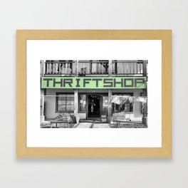 nfty thrfty Framed Art Print