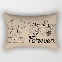 Die Hard Romantic Rectangular Pillow