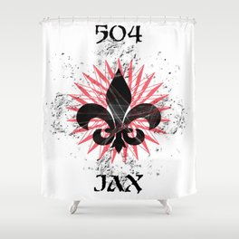 504 JAX - NOLA Burst Shower Curtain