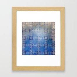 Sad Harlequin Framed Art Print